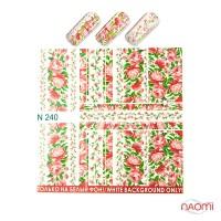 Слайдер-дизайн N 240 Цветы