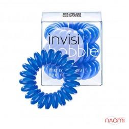 Резинка-браслет для волос Invisibobble ORIGINAL Navy Blue, цвет синий, 30х16 мм, 3 шт.