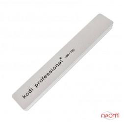 Профессиональный бафик для ногтей Kodi Professional 100/100 прямоугольный