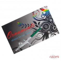 Трафареты-наклейки для nail-art Орнаменты, в наборе 5 листов