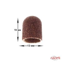 Ковпачок-насадка для фрезера д.13 мм, абразивність 80