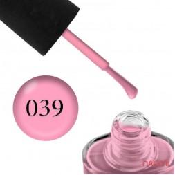 Лак NUB 039 Balery Pink рожевий, 14 мл