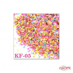 Декор для ногтей конфетти (камифубуки) KF 005