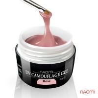 Гель Naomi камуфляжный UV Camouflage Rose розовый, 28 г