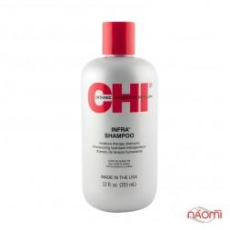 Шампунь увлажняющий питательный, 355 мл, система ухода за волосами CHI Infra