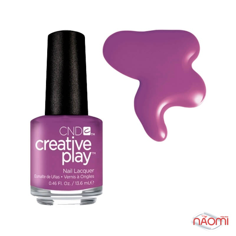 Лак CND Creative Play (480) Orchid You Not, фіолетовий, 13,6 мл, фото 1, 129.00 грн.
