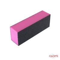 Бафик-шлифовщик для ногтей 3-ст., цвет розовый