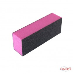 Бафик-шлифовщик для ногтей 3-ст., цвет в ассортименте