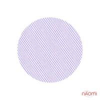 Украшения для ногтей сетка, цет фиолетовый, 11,5х5,5 см