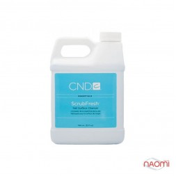 Знежирювач, дегідратор і дезінфектор для нігтів ScrubFresh CND, 946 мл