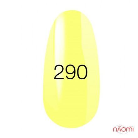 Гель-лак Kodi Professional 290 неоновый желтый эмалевый, 8 мл, фото 1, 135.00 грн.