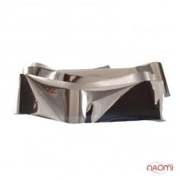 Фольга для ногтей переводная, для литья, silver глянцевая  L=1 м, ширина 4 см