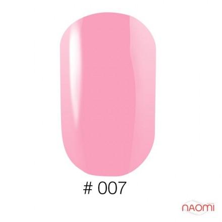 Лак Naomi 007 пастельно-розовый полупрозрачный, 12 мл, фото 1, 60.00 грн.