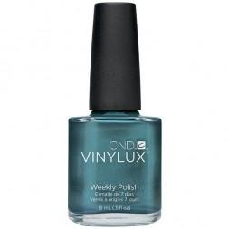 Лак CND Vinylux Weekly Polish 109 Daring Escape блестяще перламутровый голубой с серым отливом, 15 м