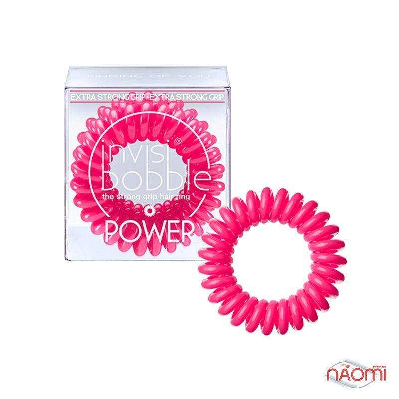 Резинка-браслет для волос Invisibobble POWER Pinking of you, цвет розовый, 40х25 мм, 3 шт., фото 1, 179.00 грн.