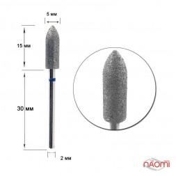 Насадка с алмазным напылением 104с-050, большая, для верхней коррекции