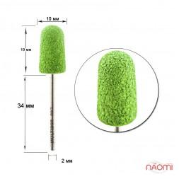 Насадка для педикюра Композит, колпак зеленый 10 мм (G 90)