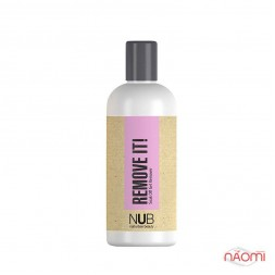 Жидкость для снятия гель-лака NUB Remove-It, 250 мл