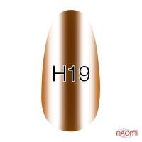 Лак Kodi Professional Hollywood H 19 золотистий кавово-мідний, хроматик, 8 мл