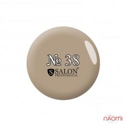 Акриловая краска Salon Professional 38 светло-серая, 3 мл