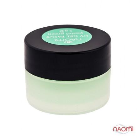 Гель-краска Naomi UV Gel Paint Pastel Green 5 г, фото 1, 85.00 грн.