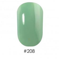 Лак Naomi 208 бледный молочно-зеленый, 12 мл