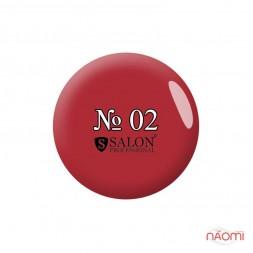 Акриловая краска Salon Professional 02 красная, 3 мл