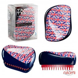 Расческа Tangle Teezer Compact Styler Cool Britannia, британский флаг