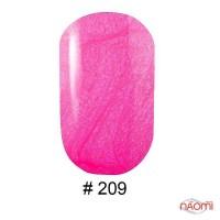 Гель-лак G.La color 209 розовая фуксия, с перламутром, 10 мл
