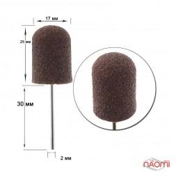 Резиновая основа с колпачком, D 16 мм абр. 80