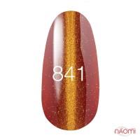 Гель-лак Kodi Professional Moon Light 841 терракотово--красный с золотистым бликом, 8 мл