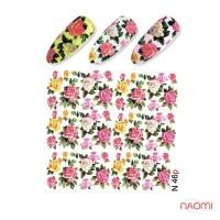 Слайдер-дизайн N 046 p Цветы