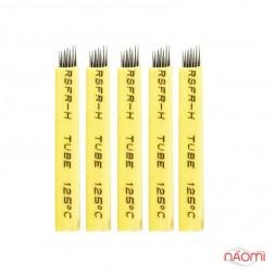 Набор игл для микроблейдинга 7 контактов 0,25 мм, 5 шт.