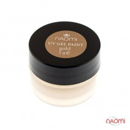 Гель-краска Naomi UV Gel Paint Gold Shimmer 5 г