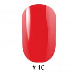 Лак Naomi VINYTONE 10 красно-розовый, яркий, 12 мл