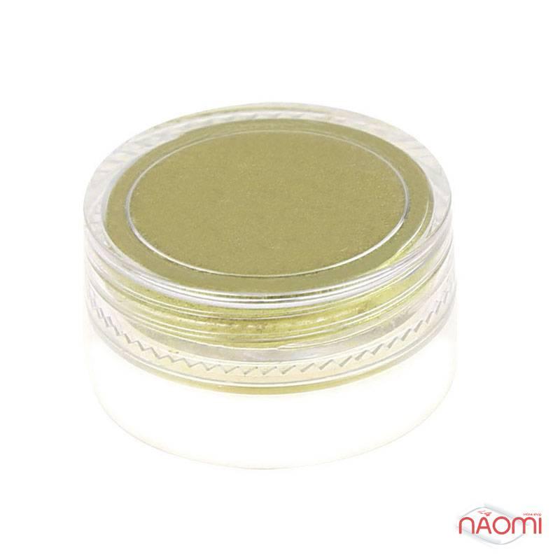 Зеркальная пудра для втирки, цвет золото, с аппликатором, 1 г, фото 2, 69.00 грн.