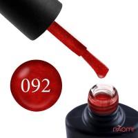 Гель-лак NUB 092 Bloody Mary терракотовый, 8мл