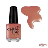 Лак CND Creative Play 418 Nuttin To Wear, коричневий, 13,6 мл