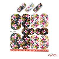 Слайдер-дизайн N 237 Цветы