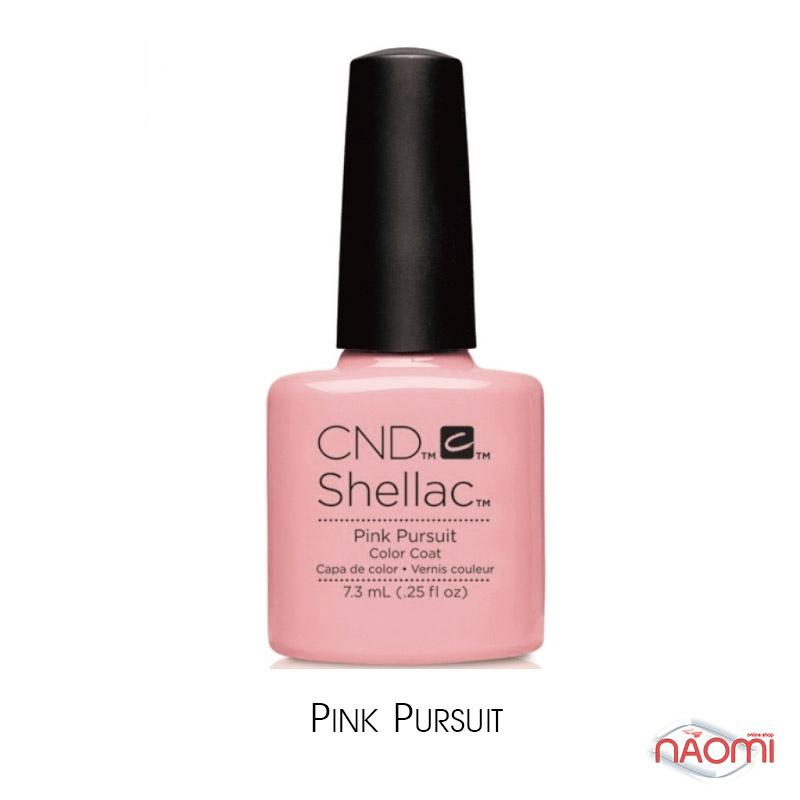 CND Shellac Flirtation Pink Pursuit, кремовий рожевий, 7,3 мл, фото 1, 339.00 грн.