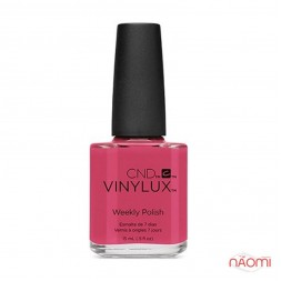 Лак CND Vinylux Art Vandal 207 Irreverent Rose, розовый с красными оттенками, 15 мл