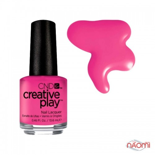Лак CND Creative Play 409 Berry Shocking, розовый, 13,6 мл, фото 1, 129.00 грн.