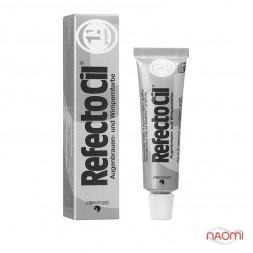 Краска для бровей и ресниц RefectoCil №1.1 Graphite, цвет графит, 15 мл