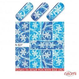 Слайдер-дизайн N 827 Зима, Новый год