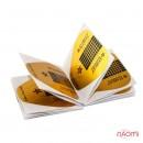 Формы для наращивания ногтей Starlet Professional широкие, золотые, 20 шт., фото 2, 10.00 грн.