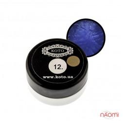 3D Гель-пластилин KOTO 12 синий, 5 г