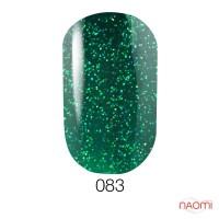 Гель-лак GO 083 зеленый с микроблестками, 5,8 мл