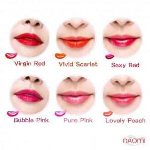 Тинт для губ Berrisom Lovely Peach, 15 г