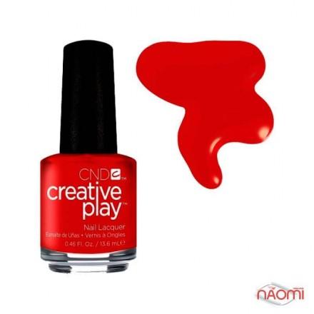 Лак CND Creative Play 413 On A Dare, красный, 13,6 мл, фото 1, 119.00 грн.