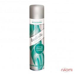 Сухой шампунь для волос - Batiste Dry Shampoo, Strenght and Shine, 200 мл